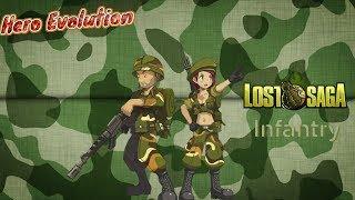 [lost Saga Ina] Infantry Evolution