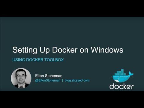 Setting Up Docker on Windows