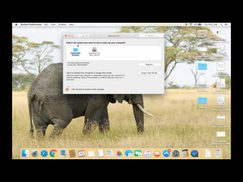 How to make windows as a default starup operating system in Macbook