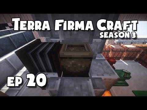 TerraFirmaCraft - S3 #20 - Making a Crucible