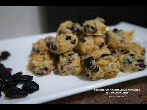 BEST Cranberry Cornflakes Cookies Recipe