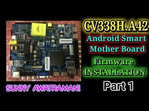 Part1 How to Installation CV338H-A42 Android Smart Board With