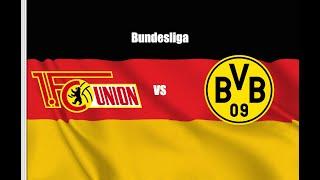 Union Berlin vs Borussia Dortmund 0-4