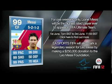 FIFA 12 Ultimate Team | 99 Rated Lionel Messi
