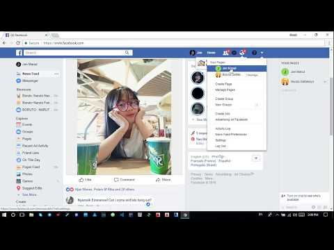 Change Username of Facebook Page in 1 Minute |2018