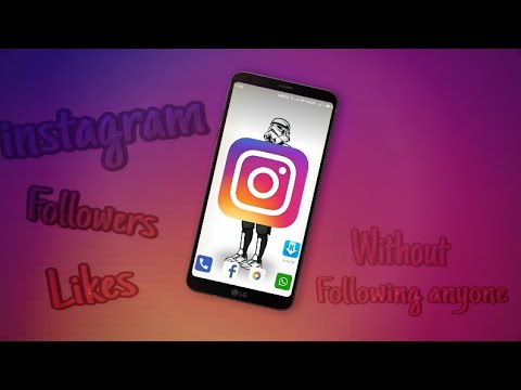 How to get instagram follower Like without following anyone 101% working