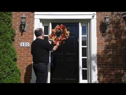 How To Paint an Exterior Door - DIY - step by step