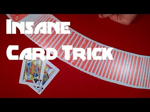 Cool Card Trick To Show Friends and Family