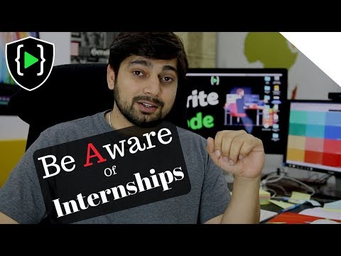 Do not buy Internships and Situation of CSE students - Reupload