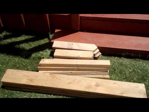 HOW TO ADD A BENCH TO YOUR DECK