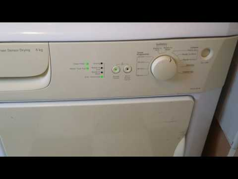 Beko sensor tumble drier not drying clothes fully? - try this...