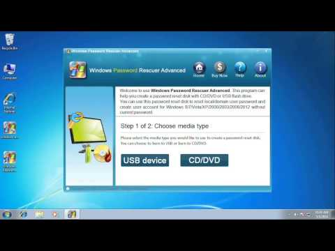 How to Remove or Bypass Windows 7 Administrator Password - Forgot Windows 7 Administrator Password