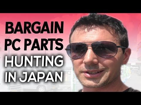 BARGAIN PC Parts Hunting in CHIBA, Yahoo Auctions & Japanese Culture