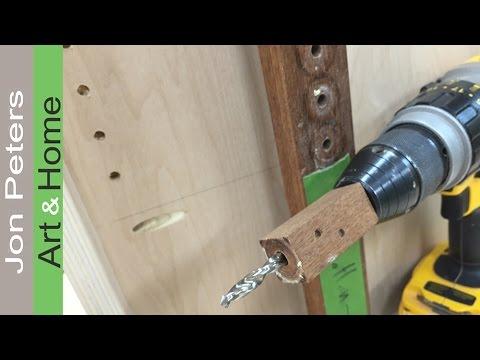 Quick Tips Adjustable Shelf Jig + MDF = Great Work Surface