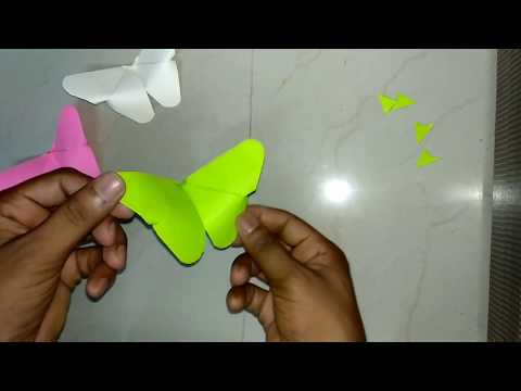 How to Make Paper Butterfly (Very Easy)