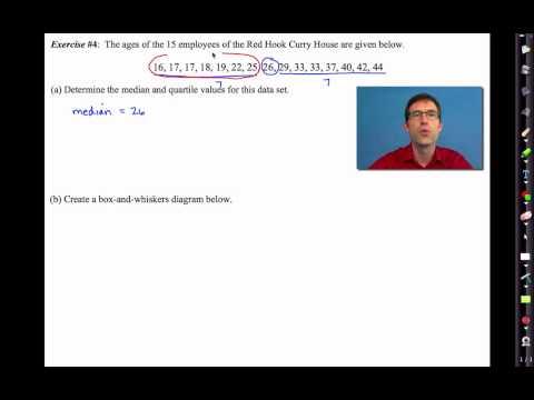 Common Core Algebra I.Unit #10.Lesson #2.Quartiles and Box Plots