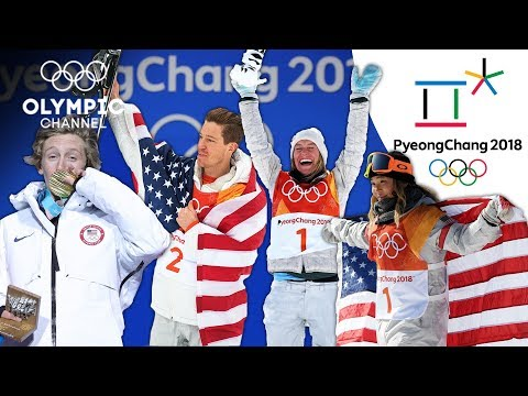 Americas Fantastic Four in Snowboarding | Winter Olympics 2018 | PyeongChang 2018