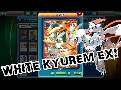White Kyurem EX and Turboblaze Reshiram! PTCGO