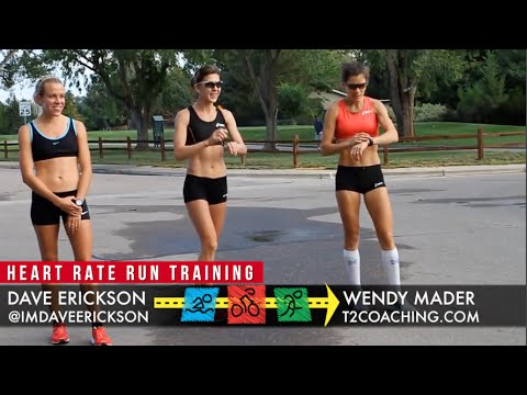 Heart Rate Training for Runners with Dave Erickson, Wendy Mader