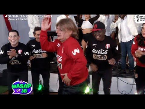 El Wasap de JB: Los miembros de la selección bailan al ritmo de timba