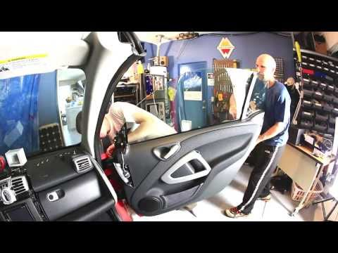 Smart Car door skin removal
