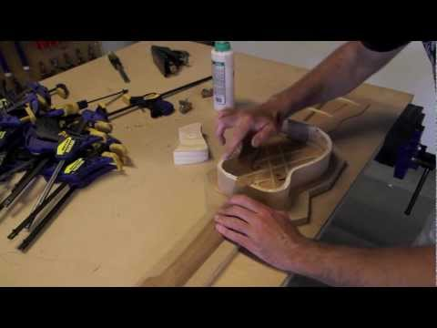 How to make a Ukulele 10 - The Body