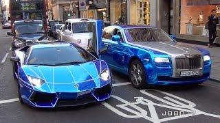 The Great Arab Supercar Invasion in London, Summer 2015
