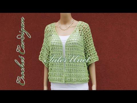 e396545f8fd92c Lace cardigan jacket crochet pattern – how to crochet a shrug