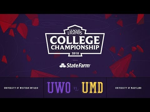 Western vs Maryland | QuarterFinals Game 2 | 2018 College Championship | UWO vs UMD