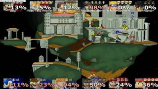 Smash Bros Rumble (12 slot match)