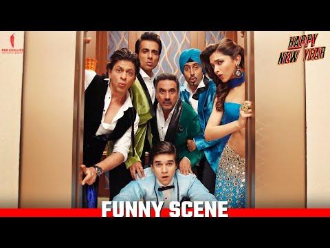 Not A Word Guys | Happy New Year Scenes | Shah Rukh Khan, Deepika Padukone