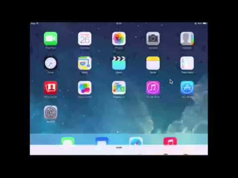 How to turn on or off location service on IPAD IOS 7