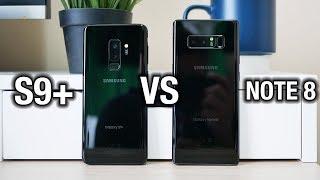 Samsung Galaxy S9+ vs Galaxy Note 8: Tough one... | Pocketnow