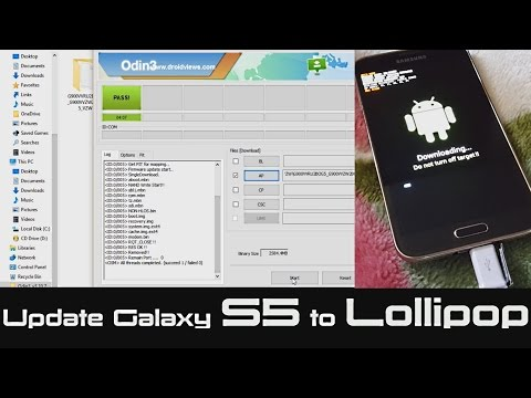 Update Samsung Galaxy S5 Kitkat To Lollipop | Android 5.0 | No Root required