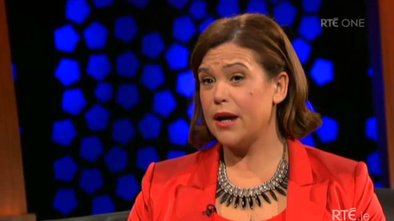 Mary Lou McDonald on The Late Late Show
