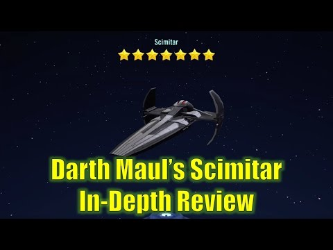 Star Wars Galaxy of Heroes: Darth Maul's Scimitar In-Depth Review
