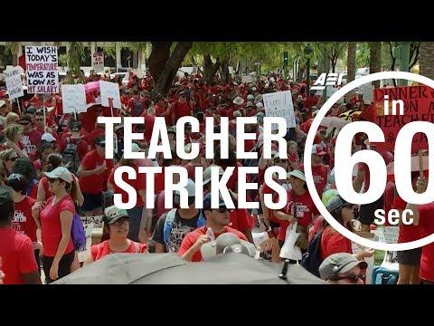 2018 teacher strikes explained | IN 60 SECONDS