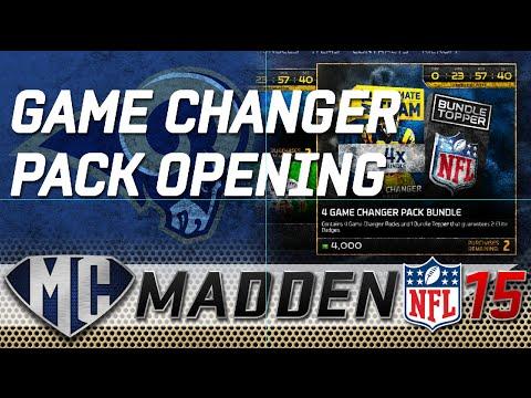 Madden Ultimate Team 15 - Game Changer Bundle & Flashback Pack - LETS GOOOO
