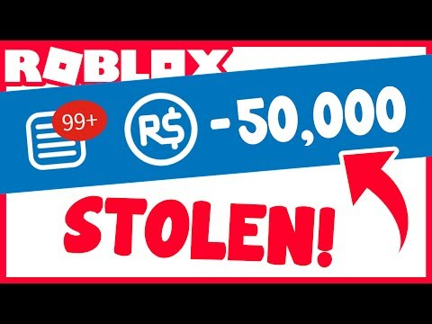 MY ROBUX WAS STOLEN!!