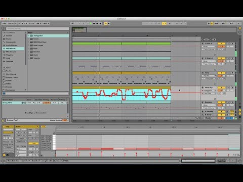 Making Drum Beats with Ableton Live - Part 2 (House 128bpm)