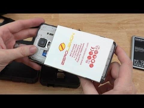 ZeroLemon Samsung Galaxy Note 4 10000mah Extended Battery Unboxing, Setup, and First Look!