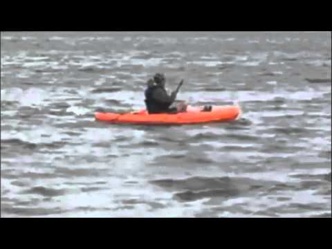 Father Steve Ryan's 5 mile frogman swim