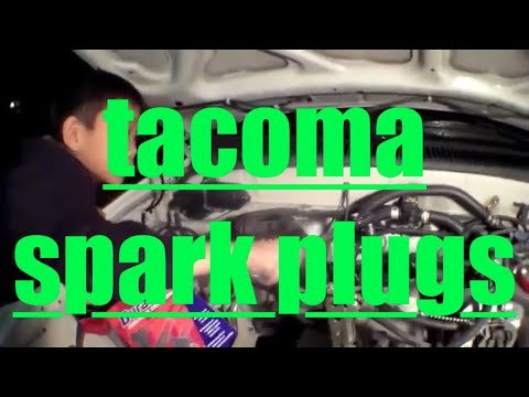 Helping MY SON Replace spark plugs & wires Toyota Tacoma√ Fix It Angel
