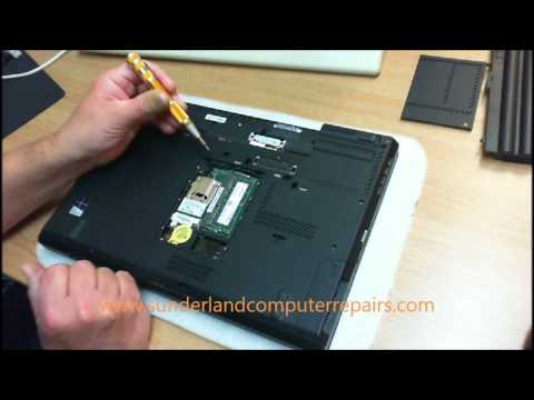 Lenovo Thinkpad T430 Keyboard removal