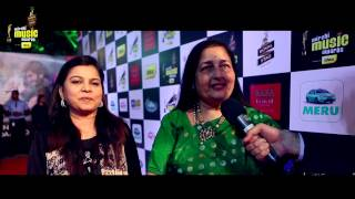 Anuradha Paudwal & Sadhana Sargam talk about their favourites on the Red Carpet at the #MMAwards
