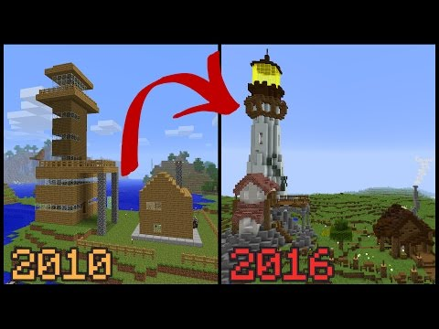 Remaking My First Minecraft House 6 Years Later