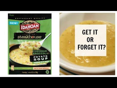 New! Cheddar Broccoli Potato Soup | Idahoan Steakhouse Potato Soup