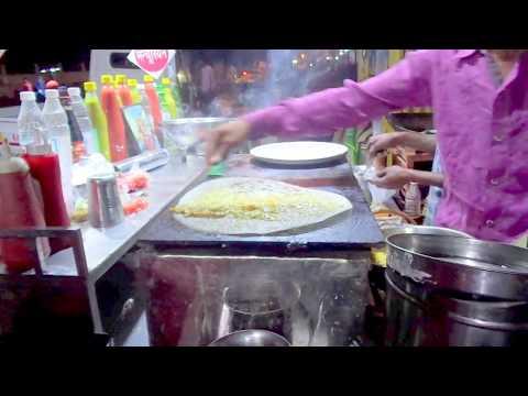 Cheese masala dosa garha bazar street food