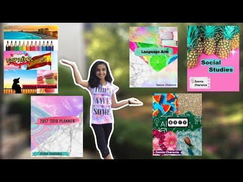 DIY Binder Covers w/ Picmonkey! Free & Easy! | Zeenia