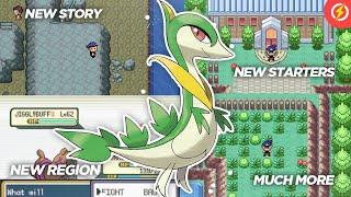 Pokemon Fire Mega Randomized Completed GBA Romhack With Mega